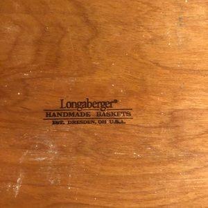 Longaberger Accents - Longaberger 9.5 X 13 inch rectangle basket 2006
